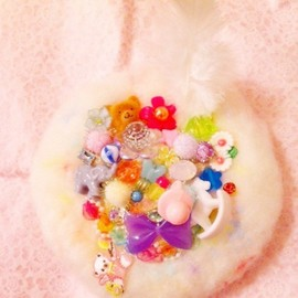 PINK SALON - Toy Pizza hair accessory
