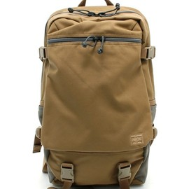 PORTER, B印 YOSHIDA - Stealth Day Pack - Coyote