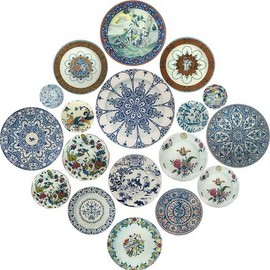 JOHN DERIAN - From a range of decoupage multi-piece wall hangings by  JOHN DERIAN