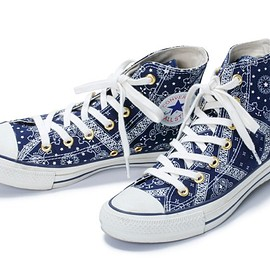 "CONVERSE - CONVERSE BANDANA ALL STAR HI ""X-girl"""