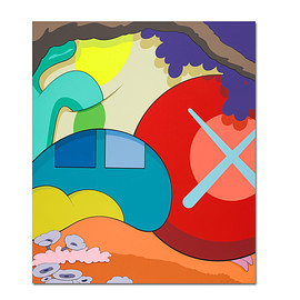 KAWS - 'You Should Know I Know' Limited-Edition Print