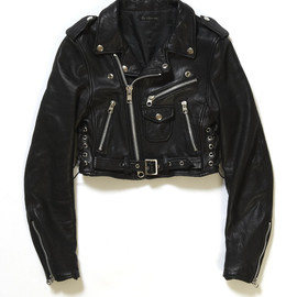The Juliette Show - Sheap Leather Short Riders Jacket