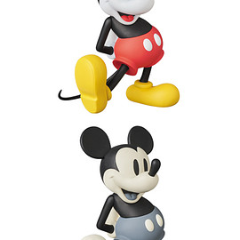 MEDICOM TOY - VCD MICKEY MOUSE STANDARD NORMAL Ver./B&W Ver.