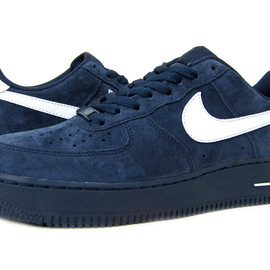 NIKE - AIR FORCE 1 LOW NAVY SUEDE