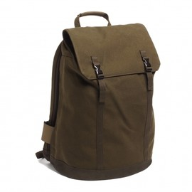 """C6 - C6 Large backpack for all iPads, MacBook Air and Pro up to 17"""" in Olive"""