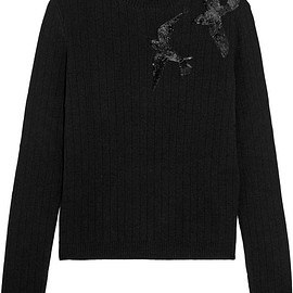 REDValentino - Sequined knitted sweater