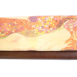 HIRAMEKI. - ART NUME LEATHER ◆Long wallet / Klimt3