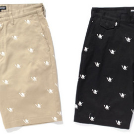 SANTASTIC! - MONOGRAM BAT SARU SHORT