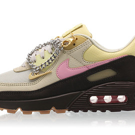 NIKE - Air Max 90 - Velvet Brown/Pink/Light British Tan