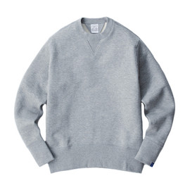 LOOPWHEELER - LW01 Basic Crew neck set in sleeve pullover