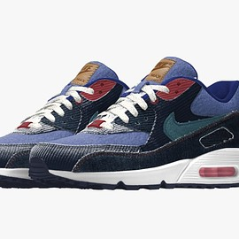 NIKE, LEVI'S, Nike By You - Air Max 90 By You - Patta Cords