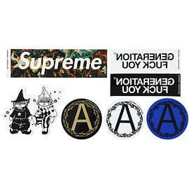 Supreme, UNDERCOVER - Sticker Set