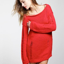 WOOL AND THE GANG - NIRVANA SWEATER / knit dress
