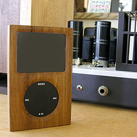 iPod Classic wooden cover