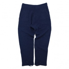 SON OF THE CHEESE - Alpaca china pants NAVY