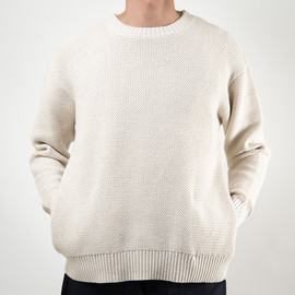 SON OF THE CHEESE - C100 SWEATER(WHITE)