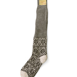 HIRSCH NATUR - Organic wool knee long socks