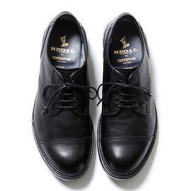 nonnative, REGAL - DWELLER SHOE CAP TOE - COW LEATHER WITH GORE-TEX® 2L by REGAL