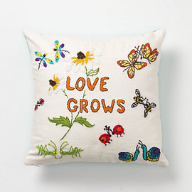 Anthropologie - Love Grows Pillow