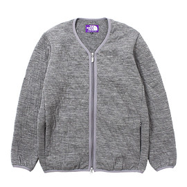 THE NORTH FACE PURPLE LABEL - Quilting Wool Knit Cardigan