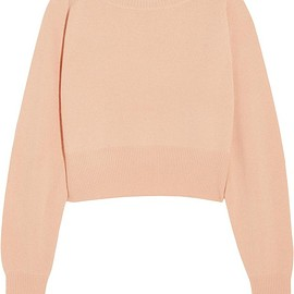 Chloé - Cropped cashmere sweater