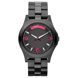 Marc by Marc Jacobs - MBM3165 Baby Dave Black Dial Black