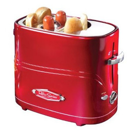 Retro Series - Red Pop-Up Hot Dog Toaster