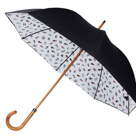 Manolo Blahnik - Shoe Print Umbrellas for Liberty