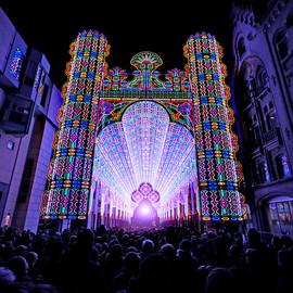 Ghent Light Festival  - LED Cathedral