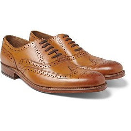 Grenson - Dylan Leather Wingtip Brogues