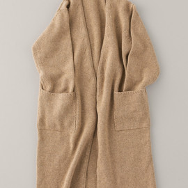 ARTS&SCIENCE - Buttonless Long Cashmere Cardigan