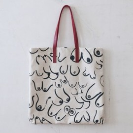 Gravel & Gold Goods - Large Boob Tote