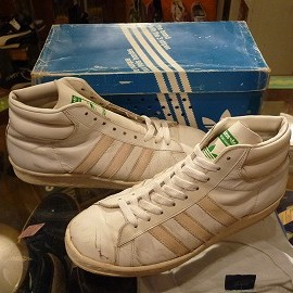 """adidas - 「<used>80's adidas TENNESSEE white""""made in HUNGARY"""" W/BOX size:GB6(24.5cm) 10000yen」販売中"""
