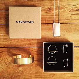 MARY&YVES - #sweetearrings #loversnecklace