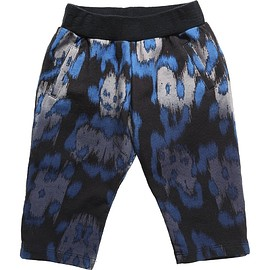 Roberto Cavalli - Blue Leopard Cotton Trousers