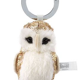 Steiff - Selection keyring owl Enchanted forest / EAN 025914 / 2012 / 7cm