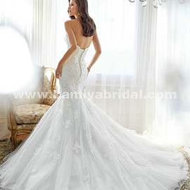 Sophia Tolli Adelie Y11553 Lace And Tulle Appliques And draped sexy wedding dress