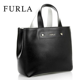 新入荷 FURLA Amelia Leather Satchel 2WAY ショルダーバッグ