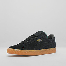 Puma - Suede (Crafted Pack) - Black/Gum/Turquoise