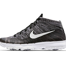 Nike Golf - Flyknit Chukka - Black/White