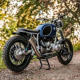 "NCT Motorcycles - BMW R100 RS #21  ""Shorty"""