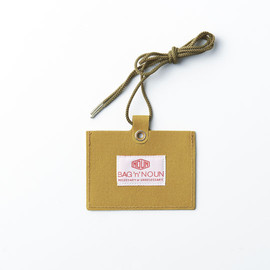 BAG'n'NOUN - NAME CARD HOLDER MUSTARD