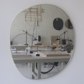 mc&co - Large Irregular Round mirror