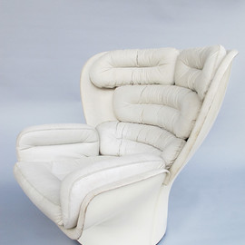 Comfort - Elda armchair Designed by Joe Colombo