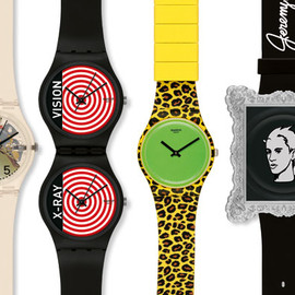 Swatch - Jeremy Scott x Swatch Fall/Winter 2011 Watch Collection