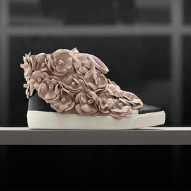 CHANEL - Camellia sneakers