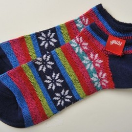 Chums - Snowflake Ankle Socks(CH09-0526)