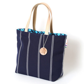 RADIO EVA - 2FACES EVA SUMBRELLA TOTE BAG (COOPER NAVY) - main image