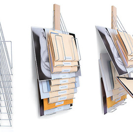 Westerville Design - Up Filer Universal Vertical Filing Rack