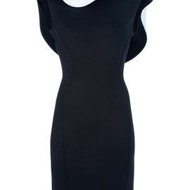 Lanvin - LANVIN - ruffle collar dress 1